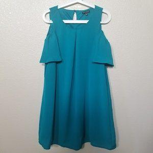 As U Wish Cold Shoulder Dress Size Medium.